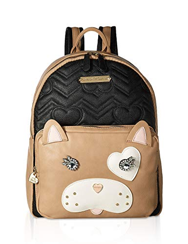 Betsey Johnson Cat Backpack Black/Brown One Size