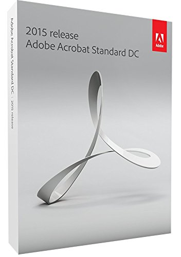 Adobe Acrobat Standard DC 2015 Windows EU [import anglais]