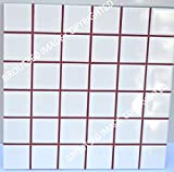 Grout 360 Wine Red Sanded Tile Grout for Tile Installation Jobs. Use on Floors, Walls, Back Splashes, Showers, and Mosaics. (1)