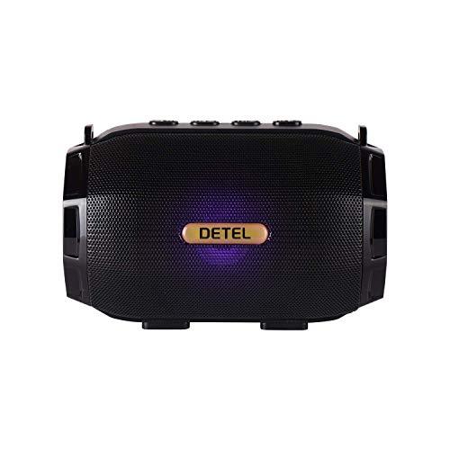 Detel Boom (DBTS-20) Bluetooth Speaker Black