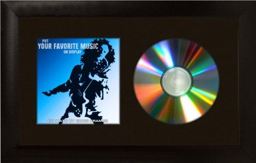 """Craig Frames 7x12 Black CD Display Mat Complete w/ 1"""" Wide Black Frame (CD1WB3BK)"""