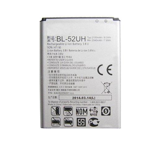 LG Optimus L70 MS323, L70 Dual D325, L70 D320, LG L65 D280 Generic Battery (BL-52UH) (Bulk Packaging)