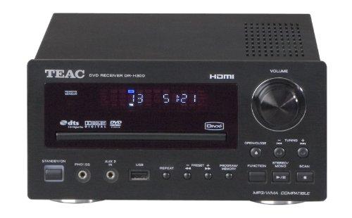 Teac DR-H300p Kompaktanlage (DVD-Player, MP3-Dekoder, UKW-/MW-Tuner, HDMI, USB 2.0) schwarz