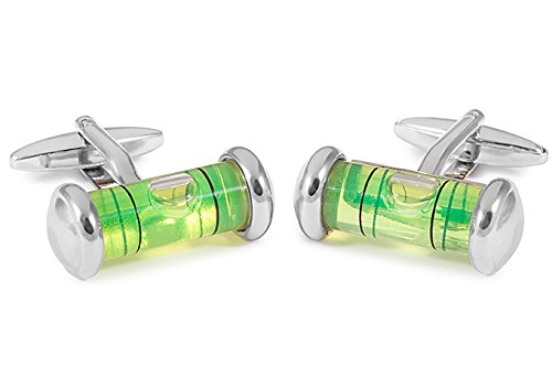 Sologemelos - Boutons De Manchette Niveau Vert - Vert - Hommes - Taille Unique