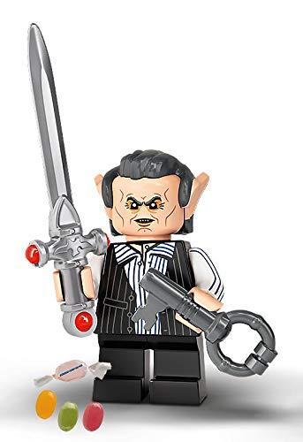 Serie 2 Lego® 71028 Harry Potter™ Minifiguren Figur 06 Griphook zusätzlich 1 x Sticker-und-co Fruchtmix Bonbon