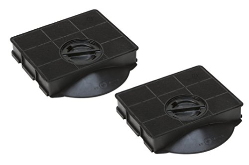 DREHFLEX – AK03-2 - Kohlefilter für Dunstabzugshaube - passt für AEG-Electrolux 9029793602 Bauknecht Whirlpool 484000008581 für Elica F00189/1 F00189/S E3CFE303 Type303 CHF303 FAT303 AMC895 AMC8959
