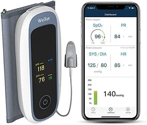 42 opinioni per Monitor dell'ossigeno nel sangue, macchine automatiche Bluetooth per la
