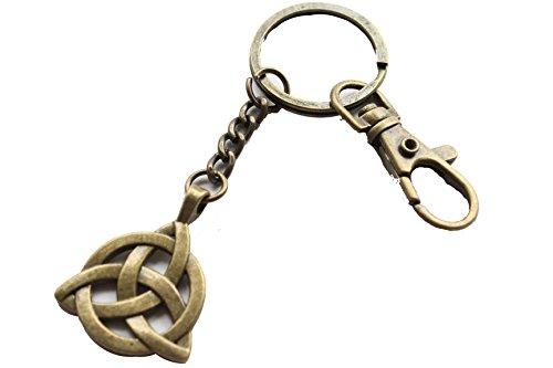 Celtic Knot Keychain, Irish Keychain, Trinity Knot Jewelry, Celtic Keychain