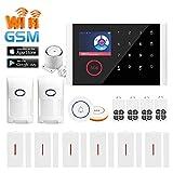 Sistema De Alarma para El Hogar 3G / 4G Sistemas De Alarma Inteligente De 2,4 Pulgadas Seguridad...