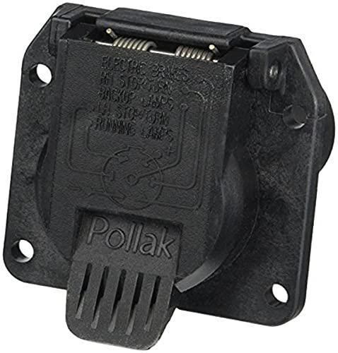 Pollak 11-893P RV 7-Way Socket (Oem Style)