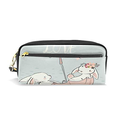 Bigjoke Bunny Regenschirm, Boot, Bleistifttasche, Tasche aus PU-Leder