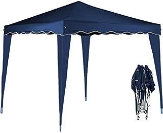 Deuba Pabellon de Jardin cenador Capri Azul 3x3 m Carpa Pleg