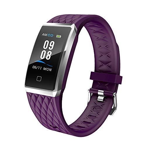 Willful Pulsera Actividad, Impermeable IP68 Pulsera Inteligente con Pulsómetro, Reloj Inteligente para Deporte, Podómetro, Pulsera Deporte para Android y iOS Teléfono móvil para Hombres Mujeres