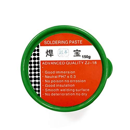 Pasta Soldar - FLUX - 150g. Realiza soldaduras perfectas. Desoxida piezas a soldar.