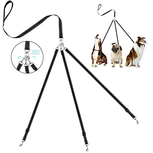 3 Dog Walking Leash
