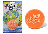 Wham-O The Incredible Superball Color Orange | Bright & Super Bouncy | Made of Durable Zectron for High Bouncing and Distance | Outdoor Play for Children and Adults (Count 1, Orange)
