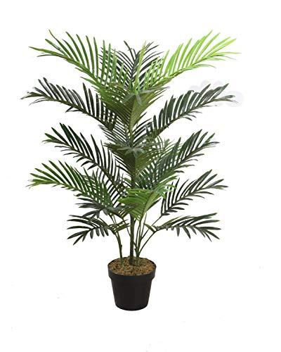 Agave Art's naturgetreu 100 cm. Chamaedorea elegans, Bergpalme, Mini Palm. Kunstpalme Kunstbaum Kunstpflanze Dekopflanze