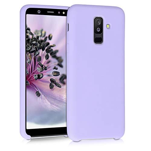kwmobile Funda Compatible con Samsung Galaxy A6+/A6 Plus (2018) - Carcasa de TPU para móvil - Cover Trasero en Lila