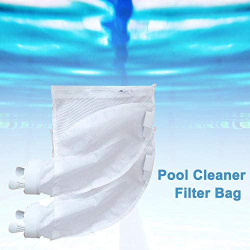 Find Bargain Alacritua Pool Cleaner Filter Bag,Replacement Bags Pouches Pool Vacuum Cleaner, Polaris...