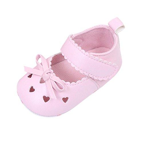 Chaussures d/ét/é pour b/éb/és ESTAMICO Sandales de fleur blanche B/éb/é fille