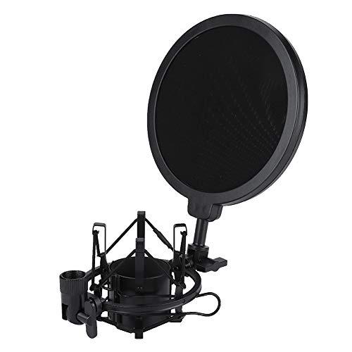 Eboxer Condensatormicrofoon, professionele pop-filter-shock-mount standaard kit voor microfoon