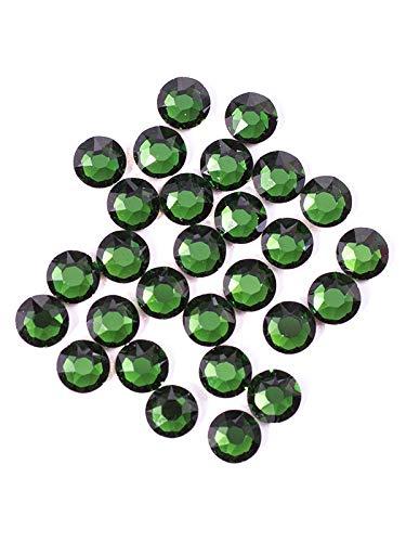 Swarovski - Create Your Style 47599340 3.8mm Fern Green Flatbacks (Includes 28 Crystals)
