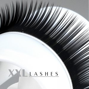 Mink Lashes, Silk Lashes, xD Lashes, Russian Volume | 0,15 mm dick | 8-14 mm lang | C-Curl - (M15CM)