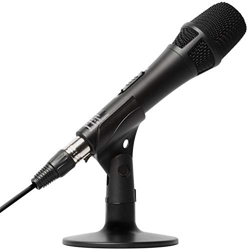 Marantz Pro M4U – USB Condenser Microphone With Audio Interface, Mic Cable and Desk Stand – For...