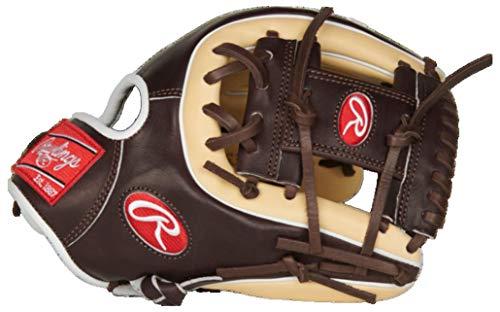 Rawlings Pro Preferred Baseball Glove, Pro I Web, 11.75 inch, Right Hand Throw, Red, Gold (PROS315-2CMO 11 3/4 I/CV)
