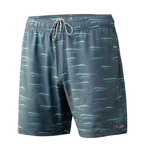 HUK Men's Playa Quick-Drying Fishing & Swimming...