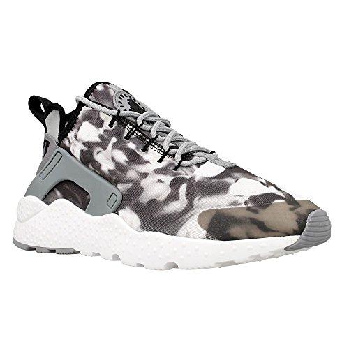 Nike - W Air Huarache Run Ultra - 844880001 - Farbe: Schwarz-Weiß - Größe: 36.5