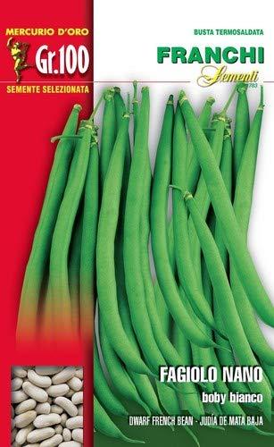 Franchi sementi semi di fagioli e fagiolini nani e...