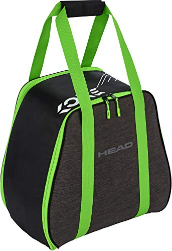HEAD, Anthracite/neon Green Freeride Boot Bag, OneSize