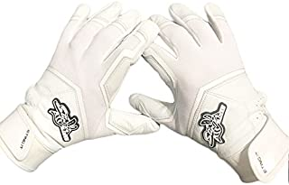 Stinger Sting Squad White Out All White Batting Gloves