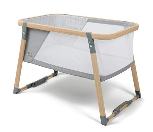 Babylo Natura Folding Crib, Travel Cot, Bedside Crib, BL11906