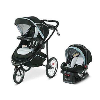 Graco Modes Jogger 2.0 Travel System   Includes Jogging Stroller and SnugRide SnugLock 35 LX Infant Car Seat, Ferris