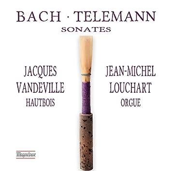 C.P.E. Bach, J.C. Bach & Telemann: Sonatas
