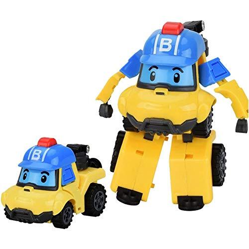 Puppe handgemachte Jungen und Mädchen Anime um Puppe Auto Roboter Deformation Roboter Anime Modell Kinderspielzeug-Bucky