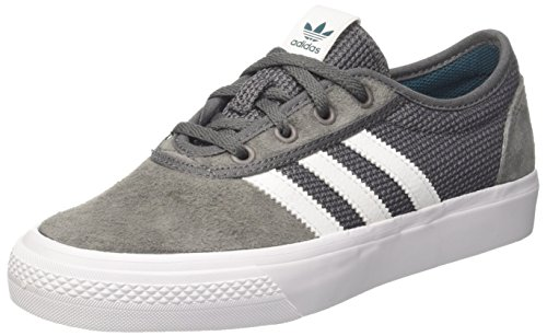 ADIDAS Originals  Adi-Ease , Baskets Mixte Adulte , Multicolore (Grey Four F17/Ftwr White/Real Teal S18), 48 EU