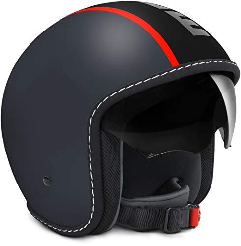 MOMO Casco Blade Grey Mat/Black M