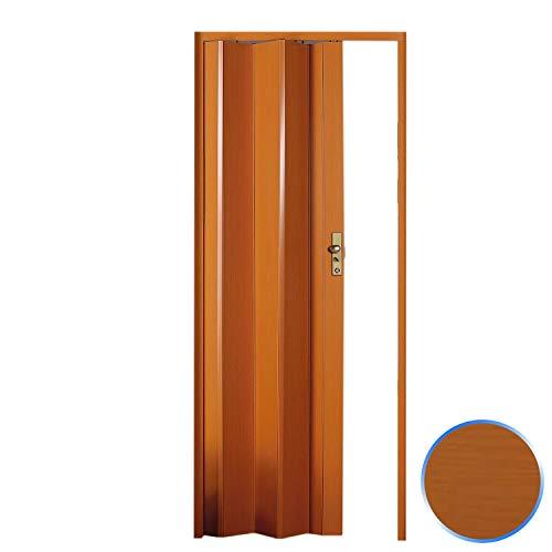 Forte Puerta Plegable de Interior de PVC Cerezo 83x214 cm Mod.Maya