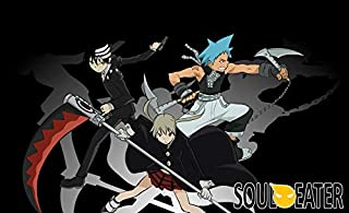 MasonArts Soul Eater Maka 39inch x 24inch Silk Poster Wallpaper Wall Decor Silk Prints for Home and Store
