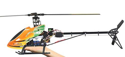 JAMARA 031592 - E-Rix 450 Carbon RTF Gas Rechts uneingeflogen, voreingestellt - alle wichtigen Teile aus Alu/Carbon, Hauptrahmen aus verwindungssteifem Carbon, 120° Taumelscheibe, 2,4 GHz Sender
