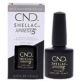 CND Shellac Esmalte de Uñas de Gel, Tono Xpress5 Top 7.3Ml - 7.3 ml