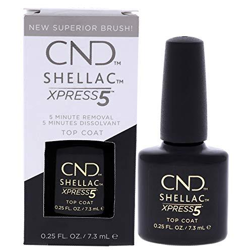 CND Shellac Smalto per Unghie, Xpress 5 Top, 7.3 ml