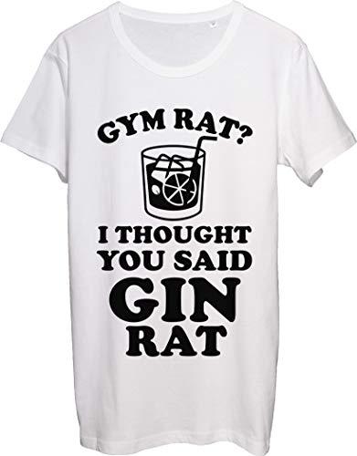 Gym Rat I Thought You Say Gin Rat - Camiseta para hombre