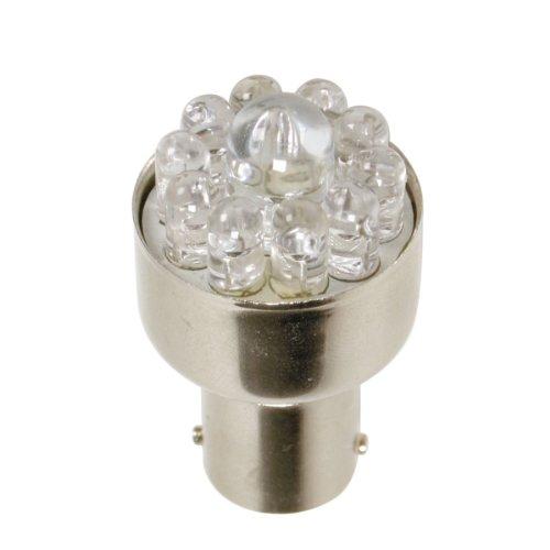 Pilot LA_58375 Ampoule LED BA15S, 21 W, 12 V (Rouge)