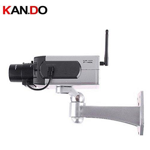 Motion Detection Led Flashing Dummy Camera Imitation CCTV Camera Movement Scaring Camera IR Led Flash Move Dummy Gun Camera