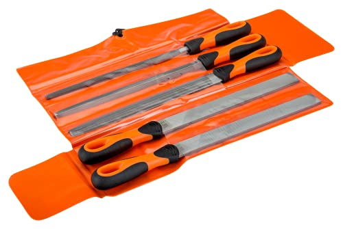 Bahco 1-478-10-1-2 10-inch Assorted File Set with Handle