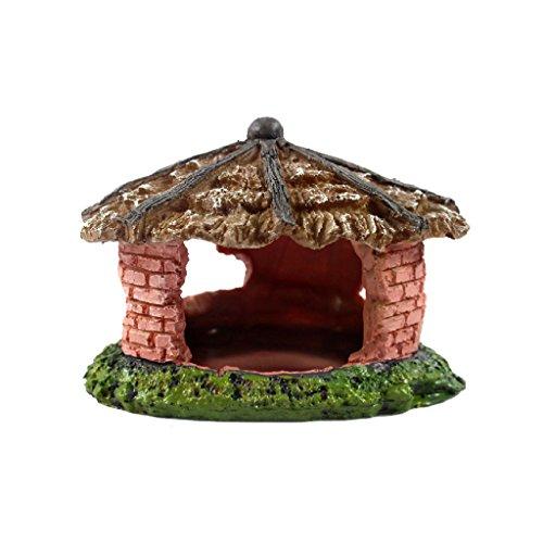 Reptil Haus Höhle Schutz Ornament Für Schildkröte, Eidechse, Frosch, Schlange, Spinne